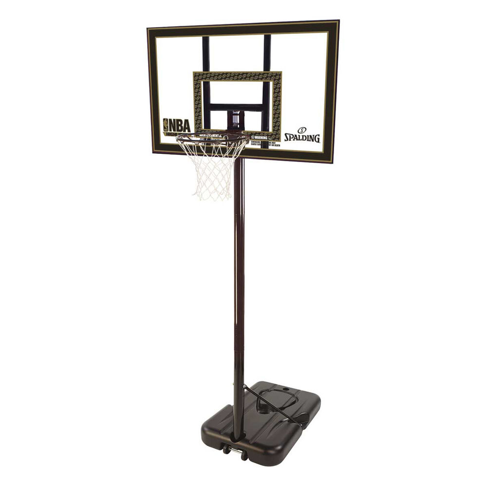 Spalding 42in Acrylic Portable Basketball System  82333df30
