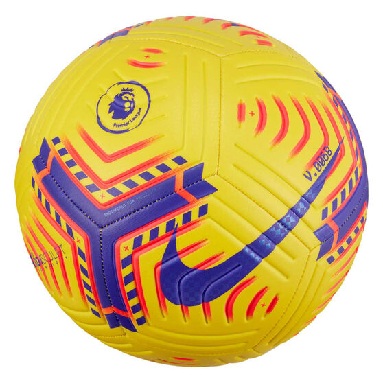 Nike Premier League Strike Soccer Ball, Yellow, rebel_hi-res