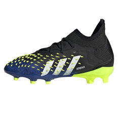 adidas Predator Freak .1 Kids Football Boots Black/Blue US 4, Black/Blue, rebel_hi-res