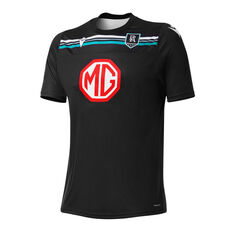 Port Adelaide Mens 2021 Training Tee Black S, Black, rebel_hi-res