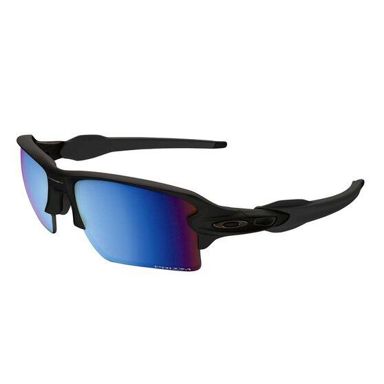 Oakley Flak 2.0 XL Prizm Deep Water Polarised Sunglasses Matte Black / Prizm Deep Water, , rebel_hi-res