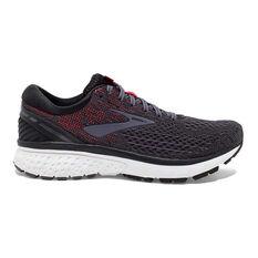 Brooks Ghost 11 Mens Running Shoes Black / Grey US 7, Black / Grey, rebel_hi-res