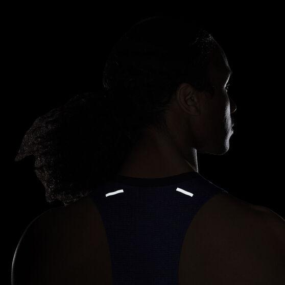 Nike Mens Dri-FIT ADV Techknit Ultra Running Tank, Blue, rebel_hi-res