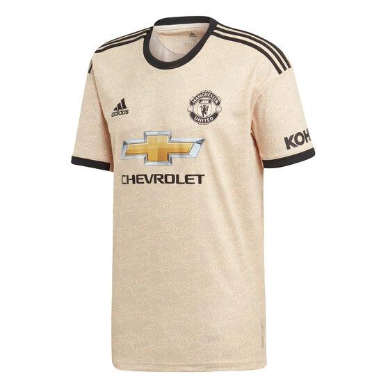 Manchester United 2019/20 Mens Away Jersey, Brown / Black, rebel_hi-res