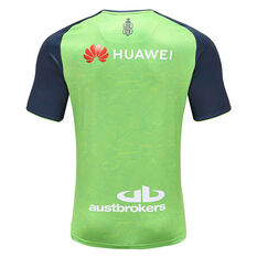 Canberra Raiders 2020 Mens Training Tee Green / Navy S, Green / Navy, rebel_hi-res