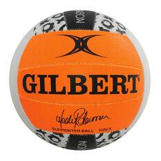 Gilbert Madi Robinson Netball Orange / Black 5, , rebel_hi-res