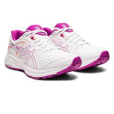 Asics GT 1000 LE D Womens Running Shoes, White, rebel_hi-res