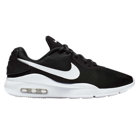 Nike Air Max Oketo Womens Casual Shoes, Black / White, rebel_hi-res
