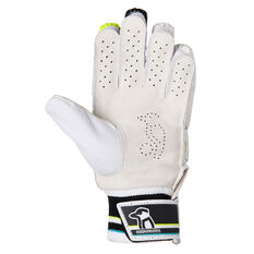 Kookaburra Rapid Pro 8.0 Junior Cricket Batting Gloves Green/Blue Youth Right Hand, Green/Blue, rebel_hi-res