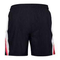 Under Armour Mens Launch SW Branded Shorts, Black, rebel_hi-res