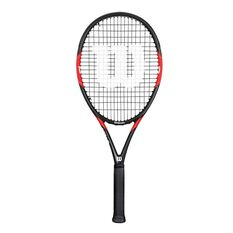 Wilson Federer Tour Tennis Racquet 4 1 / 4in Red / Black 4 1 / 4in, Red / Black, rebel_hi-res
