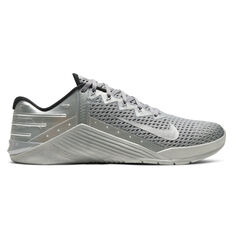 Nike Metcon 6 Premium Mens Training Shoes Silver US 7, Silver, rebel_hi-res
