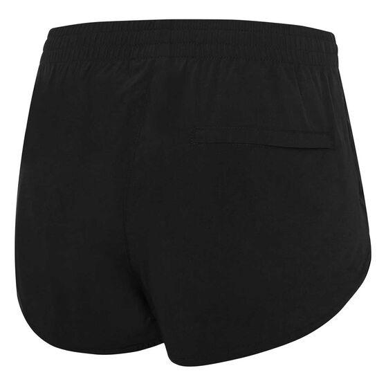 Speedo Womens Workout Shorts, Black, rebel_hi-res