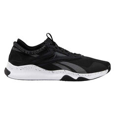Reebok HIIT Mens Training Shoes Black / White US 8.5, Black / White, rebel_hi-res
