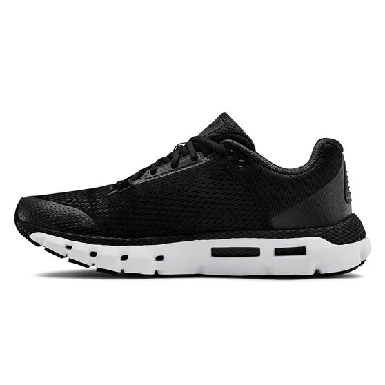 Under Armour HOVR Infinite Mens Running Shoes, Black / White, rebel_hi-res