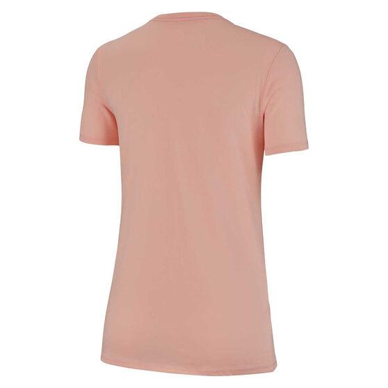 Nike Womens Just Do It Swoosh Tee, Pink, rebel_hi-res