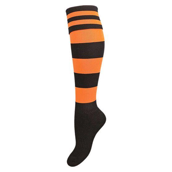 Burley Old Balmain Kids Football Socks, , rebel_hi-res