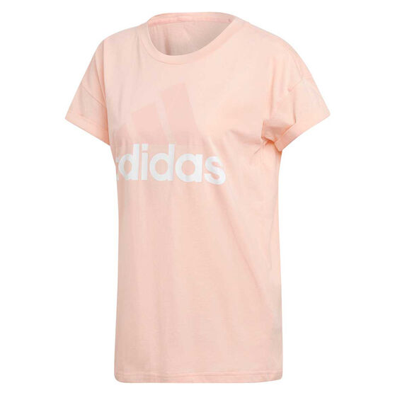 adidas Womens Essentials Linear Loose Tee, , rebel_hi-res