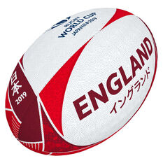 Gilbert Rugby World Cup 2019 England Supporter Rugby Ball, , rebel_hi-res