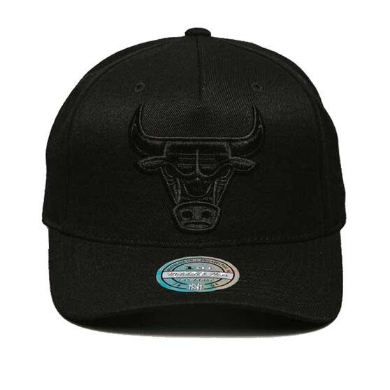 Chicago Bulls All Black 110 Snapback Cap, , rebel_hi-res