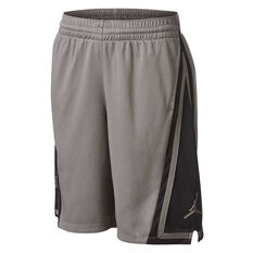 Nike Boys Jordan Franchise Basketball Shorts Grey / Black S, Grey / Black, rebel_hi-res