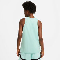 Nike Womens Essential Fly Reversible Basketball Jersey Mint XS, Mint, rebel_hi-res