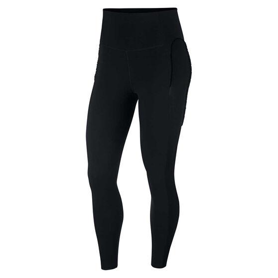 Nike Womens Yoga Infinalon 7/8 Tights, Black, rebel_hi-res