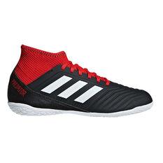 adidas Predator Tango 18.3 Junior Indoor Soccer Shoes Black / White US 11, Black / White, rebel_hi-res