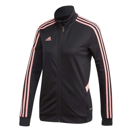 adidas Womens Tiro Training Jacket, Black, rebel_hi-res