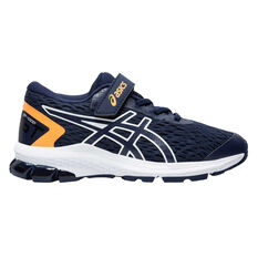 Asics GT 1000 9 Kids Running Shoes US 11 Navy / Orange, , rebel_hi-res