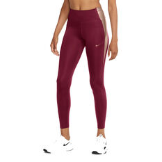 Nike Womens One Tights Pink XS, Pink, rebel_hi-res