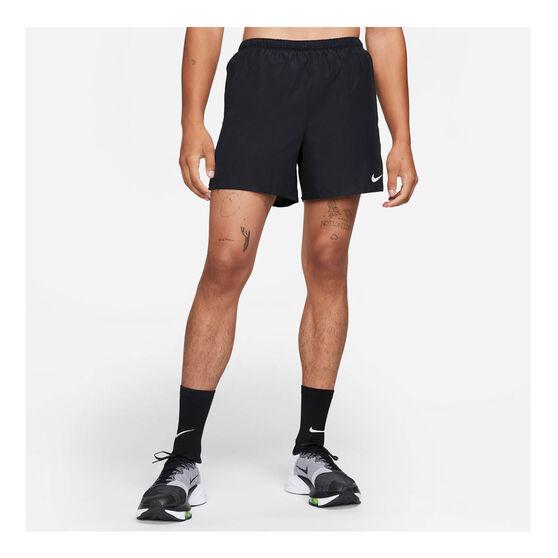 Nike Challenger Mens Dri-FIT Brief Lined Running Shorts, Black, rebel_hi-res