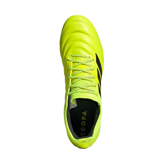 adidas Copa 19.1 Football Boots, Yellow / Black, rebel_hi-res