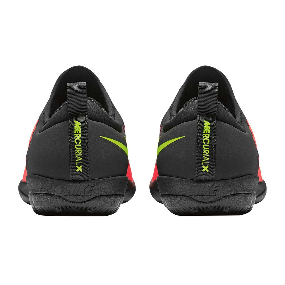 Nike MercurialX Finale II Mens Indoor Soccer Shoes Crimson   Volt US 10  Adult aef81d31870f2