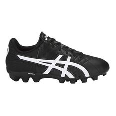 Asics Lethal Tigreor IT GS Kids Football Boots Black / White US 1 Junior, Black / White, rebel_hi-res