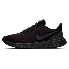 Nike Revolution 5 Womens Running Shoes Black US 6, Black, rebel_hi-res