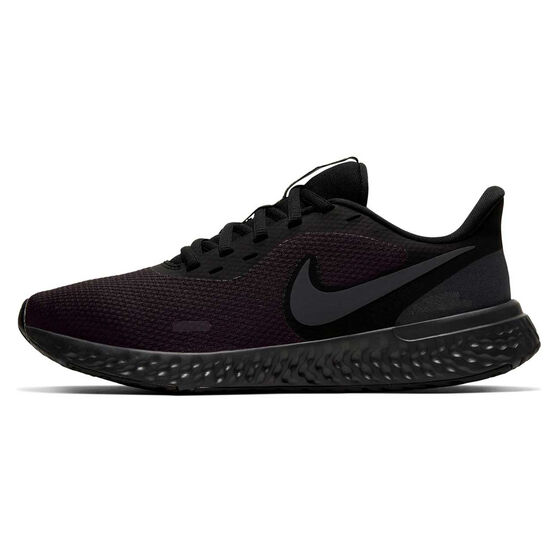 Nike Revolution 5 Womens Running Shoes, Black, rebel_hi-res