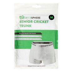 Terresphere Mens Cricket Briefs White S, White, rebel_hi-res