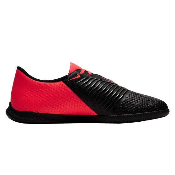 Nike Phantom Venom Indoor Soccer Shoes, Black / Red, rebel_hi-res