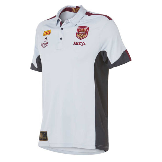 QLD Maroons State of Origin 2018 Mens Polo Shirt M, , rebel_hi-res