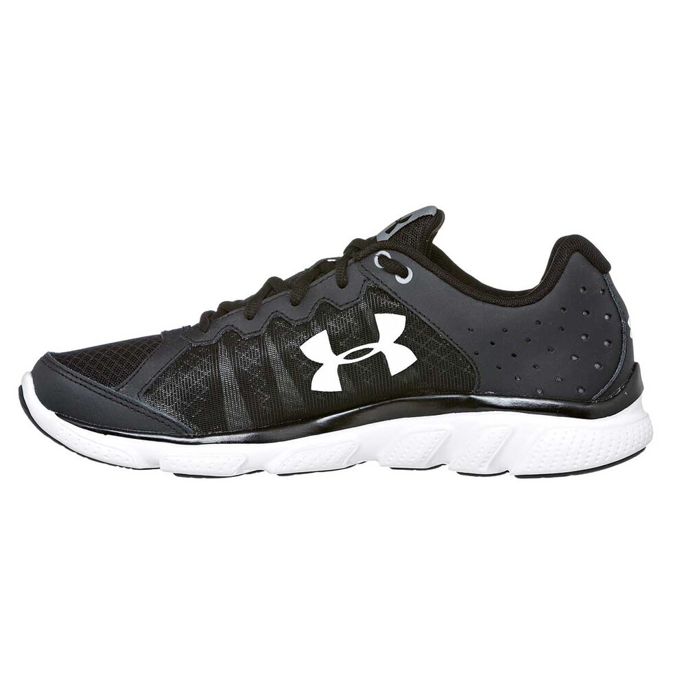 c32855d5c071 Under Armour Micro G Assert 6 Mens Running Shoes Black   White US 7 ...