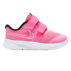 Nike Star Runner 2 Toddlers Shoes Pink/White US 4, Pink/White, rebel_hi-res