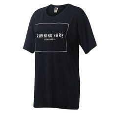 Running Bare Womens Two Tribes 90s Relax Tee Black 8, Black, rebel_hi-res
