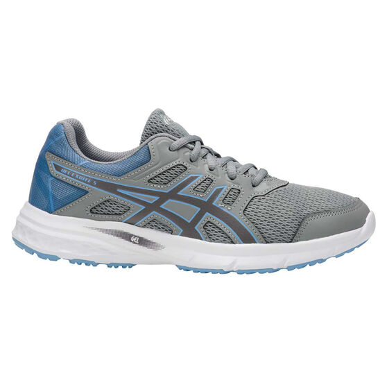 Asics Gel Excite 5 Womens Running Shoes, Grey / Blue, rebel_hi-res
