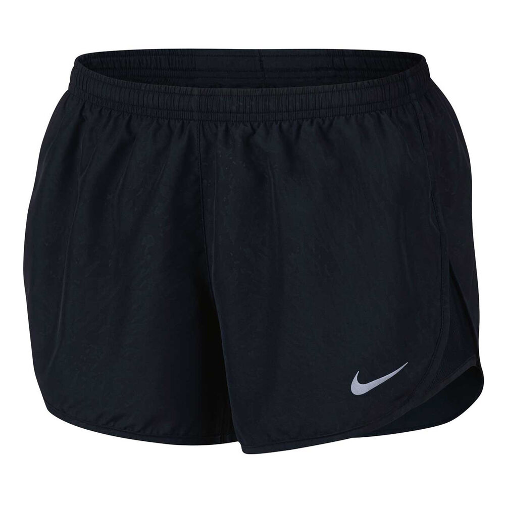 4380de405a0 Nike Womens Dry Tempo Running Shorts Black   Silver XS Adult