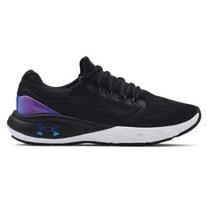 Under Armour Charged Vantage Colourshift Womens Running Shoes Black/Blue US 6, Black/Blue, rebel_hi-res