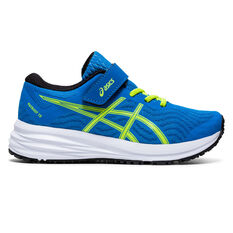 Asics Patriot 12 Kids Running Shoes Blue US 11, Blue, rebel_hi-res
