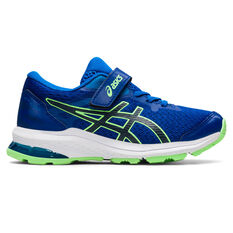 Asics GT 1000 10 Kids Running Shoes Blue/White US 11, Blue/White, rebel_hi-res