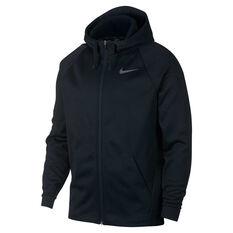 Nike Mens Therma Full Zip Training Hoodie Black S, Black, rebel_hi-res