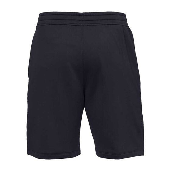 Under Armour Mens MK 1 Terry Training Shorts, Black, rebel_hi-res
